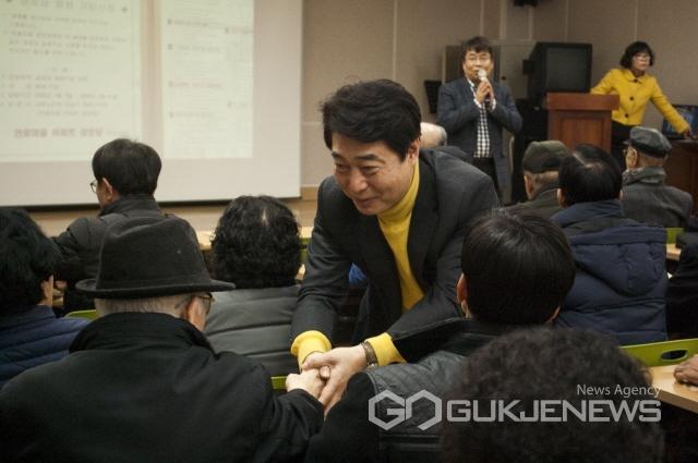 조신 성남 중원구 국회의원 예비후보,설 명절맞이 어르신 새해 인사와 봉사 활동