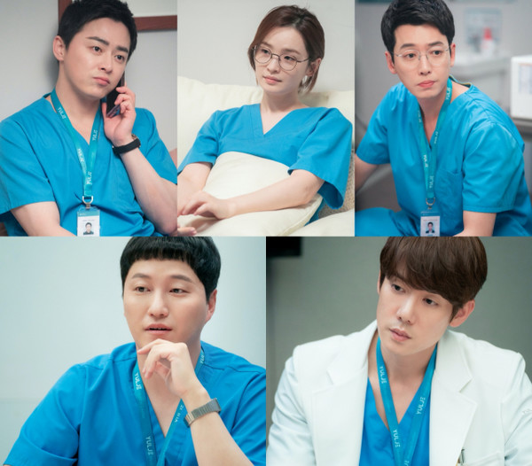 '슬의생2' 조정석·유연석·정경호·김대명·전미도의 또 다른 관계(사진=tvN)