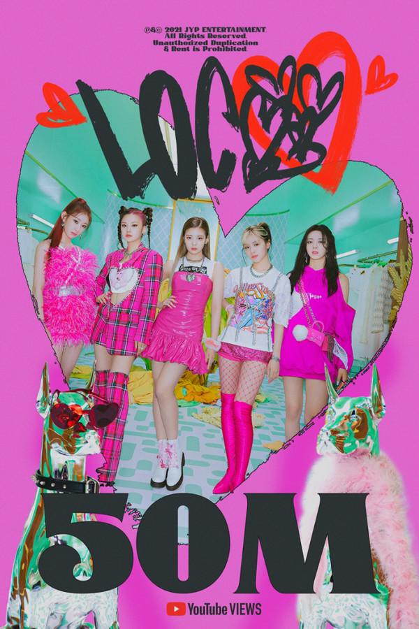 있지 5000만뷰 (사진-JYP 엔터테인먼트)