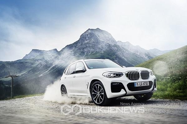 BMW, X3 하이브리드 모델 뉴 X3 xDrive30e 국내 출시