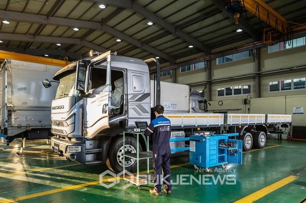 타타대우상용차, 포천남원에 정비공장 신규 오픈