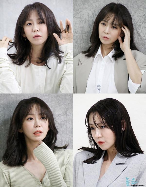 배우 심이영,화보 비하인드 컷...
