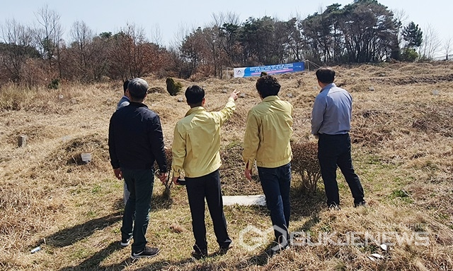 서산시, 석남동 공동묘지 정비사업 본격 추진...2022년말 완료 목표