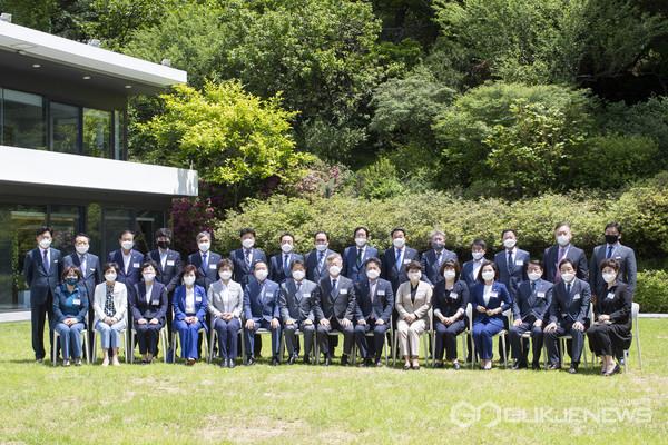 사진 = 경기도시군의회의장협의회-경기도지사 오찬간담회