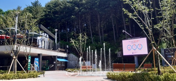 파주시, 감악산 힐링파크에서 시원한 여름나기.(사진제공.파주시)
