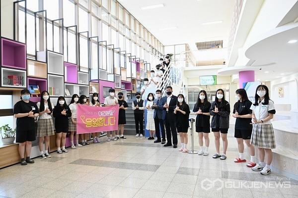 청원고등학교 참여 모습.(사진제공=충북도교육청)