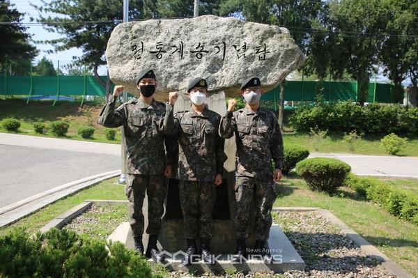 육군 6포병여단, CCTV 경계근무 중...신속한 초동조치로 대형 화재 막은 장병들.(사진제공.육군)