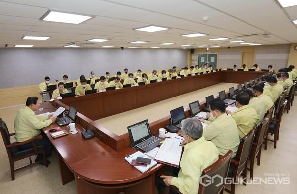 함안군은 지방재정 신속집행 추진상황 보고회를 가졌다.