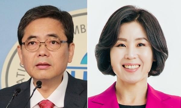 곽상도·김미애 미래통합당 의원.