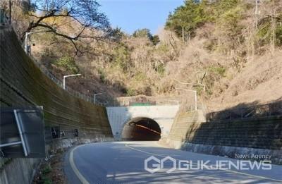 '제1만덕터널' 전경/제공=부산시