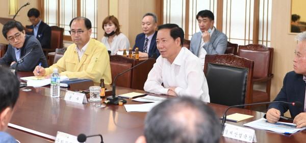 거창 창포원 수변공간 생태자원화사업 기본계획 보고회 개최 자료사진