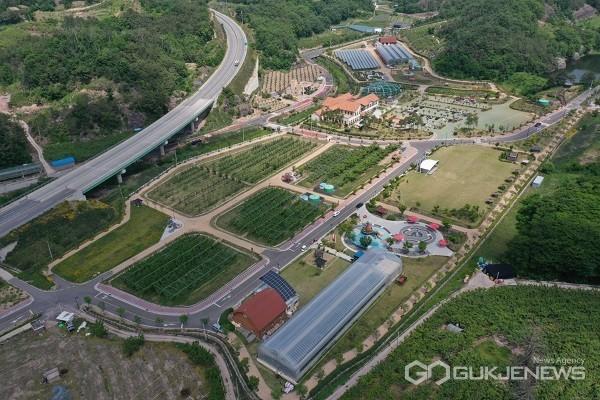과일나라테마공원.(사진제공=영동군청)