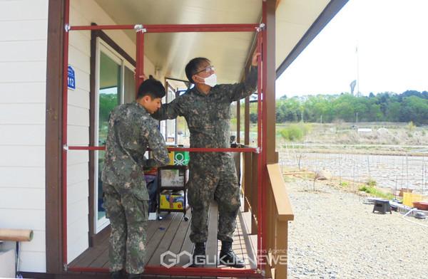 육군, 제5보병사단 표범연대 부사관단, 지역 취약계층 위한 봉사활동 활성화.