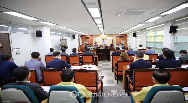 제234회 봉화군의회 임시회 폐회