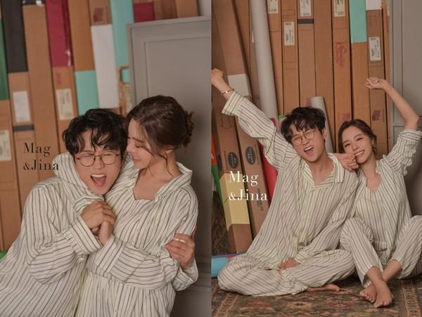 [화보] 개그맨 박성광♥이솔이 부부, 꿀 떨어지는..사랑스러운 모습!