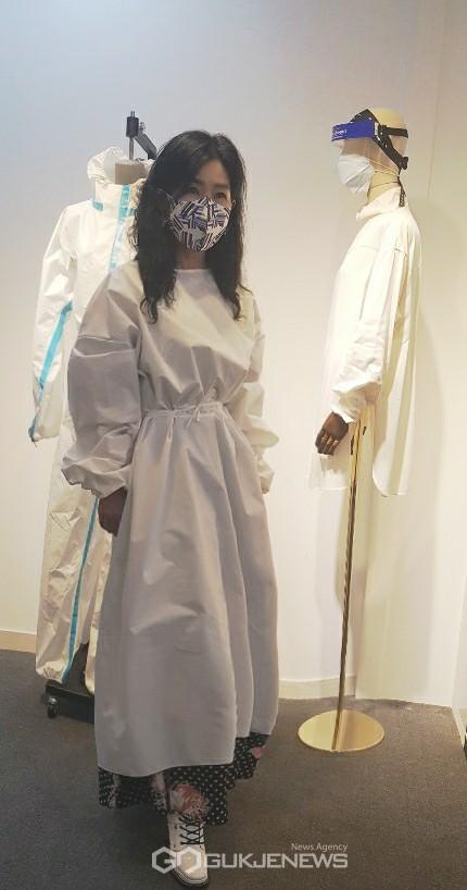 미술관과 함께 하는 친환경 K방역 패션쇼 개최