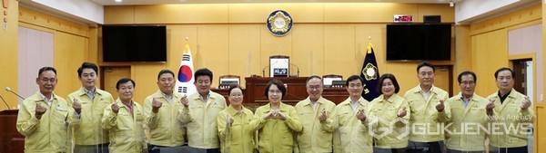 서산시의회, 추석 앞두고 사회복지시설 4개소에 위문품 전달