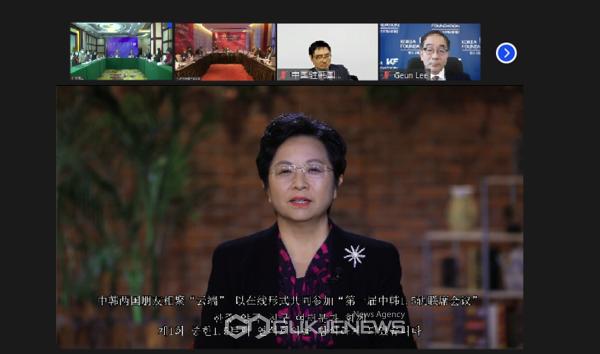 자위메이 헤이롱장성 상임위원 선전부장 축사