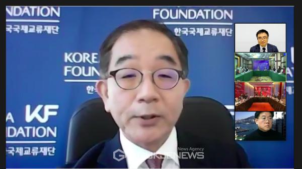 이근 한국국제교류재단 이사장 축사