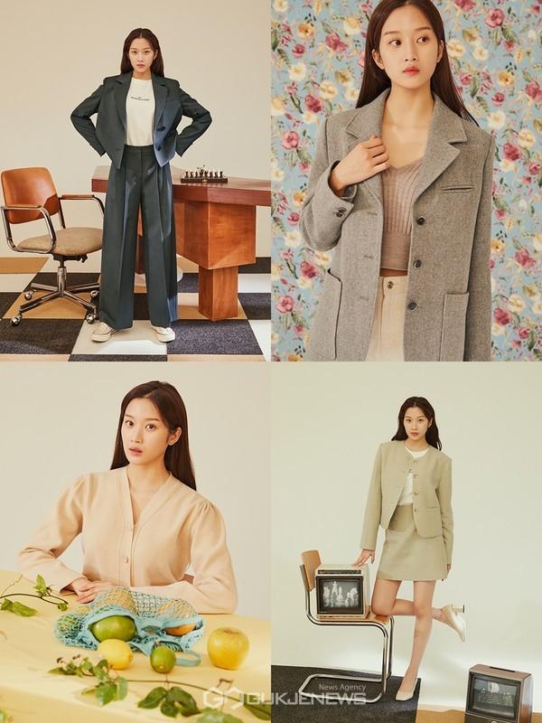 여신강림 문가영 화보 공개, 무결점 미모로 완성한 봄 데일리룩