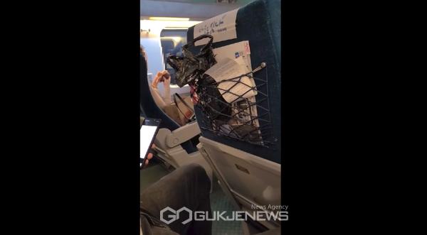 KTX 햄버거 진상녀, 코로나19 사태에도 기차 안 취식