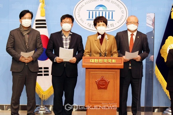 김은혜, LH 100억대 사전 투기 국민 분노