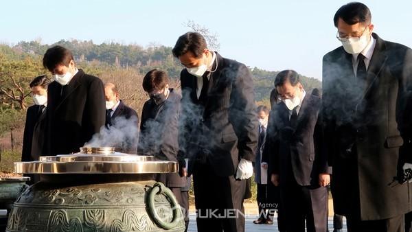 오세훈, 국립현충원 참배