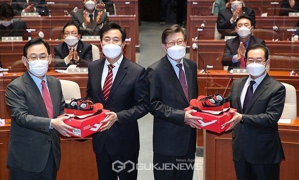 오세훈·박형준, 4.7 보궐선거 필승 의지