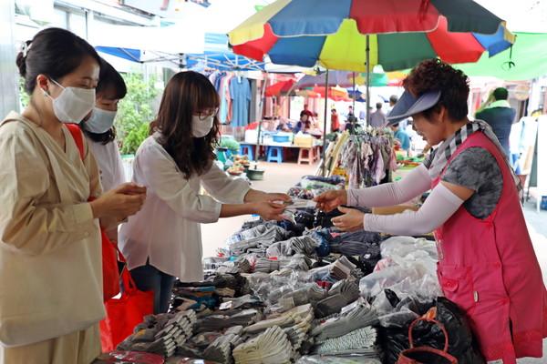 함양군 지역경제 활성화 시장가는 날 운영 자료사진