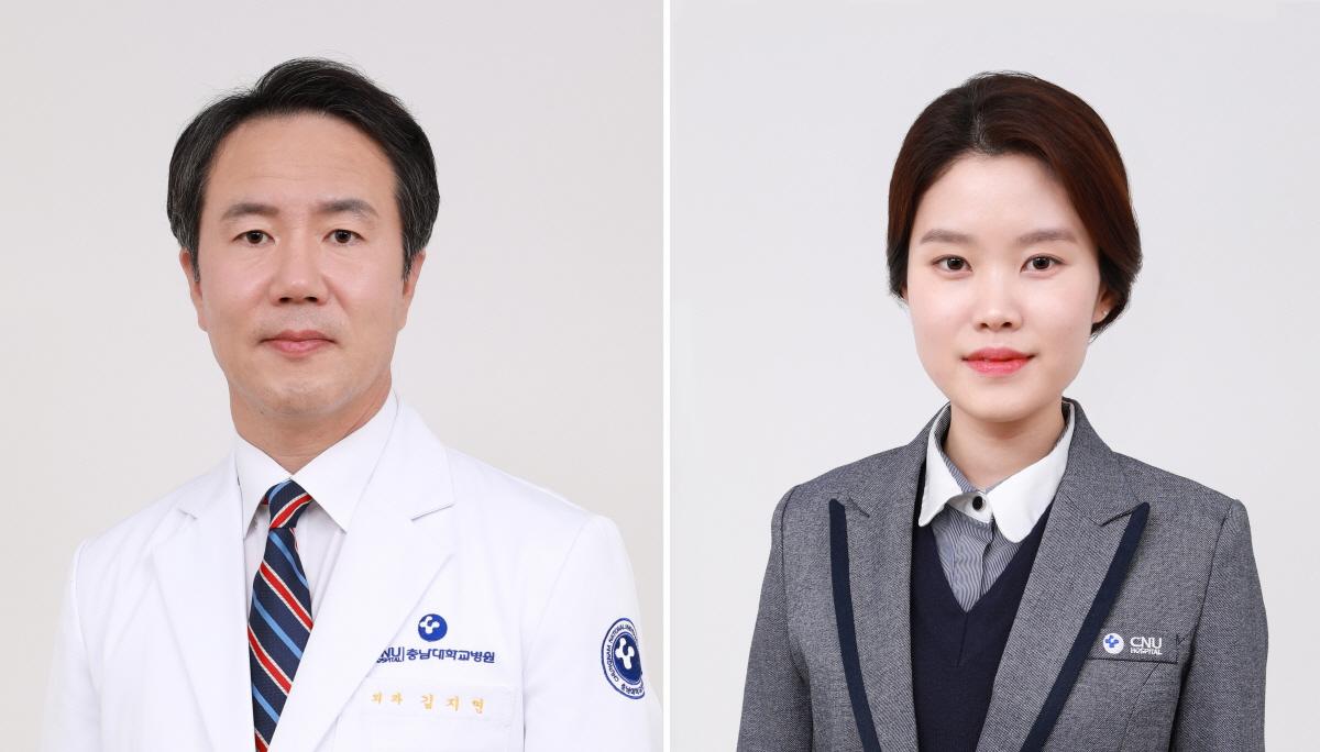 (좌측부터) 김지연 교수, 정지윤 직원