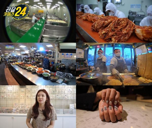 '관찰카메라24' 김치 제조 공장·경주 가성비 맛 투어·네일아티스트 소개(사진= 채널A)
