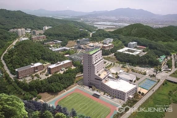 한국교통대 충주캠스 전경