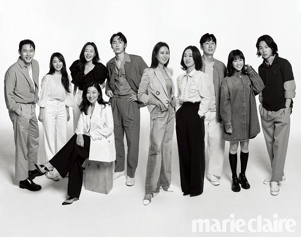 씨제스 엔터테인먼트 배우들 그린캠페인 단체 화보 공개