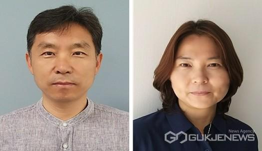 사진왼쪽부터 전재운 산업개발팀장, 김휘진 주무관(사진=단양군)