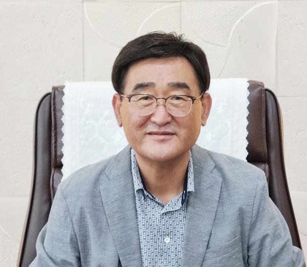 제9대김필규칠곡상공회의소회장.(사진=칠곡군)
