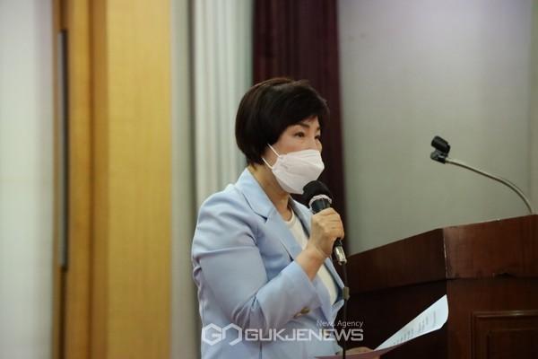 국회 지구촌보건복지 포럼 더불어민주당 전혜숙 대표의원