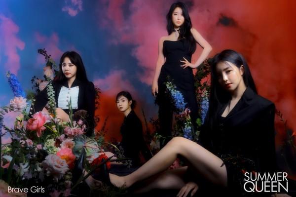 브레이브걸스(Brave Girls), 미니 앨범 5집 'Summer Queen'