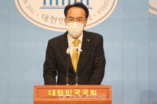 이동영 정의당 수석대변인.