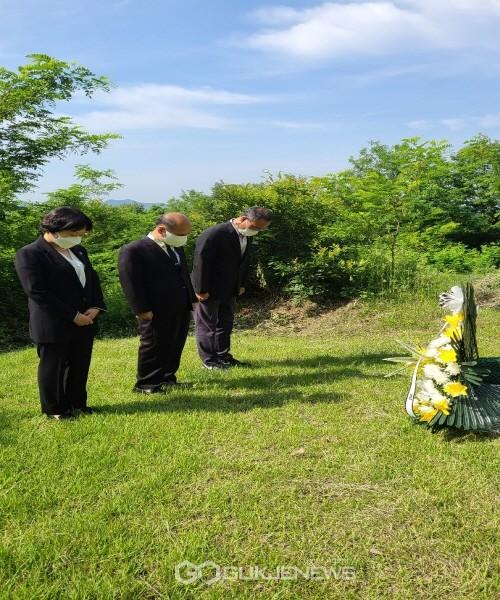 경북북부보훈지청, 6·10만세운동의 주역 권오설 지사 묘소 참배