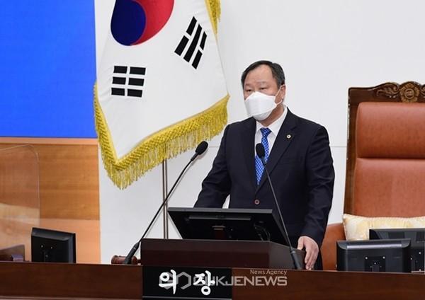 김인호 서울시의회 의장.