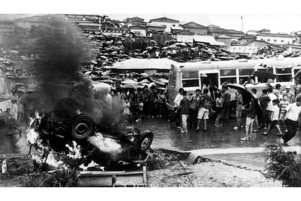 1971년 8월 10일 성남(광주대단지)민권운동 당일 모습(사진=성남시)