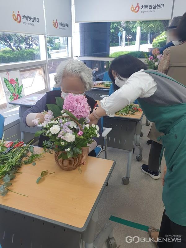 용인시처인구보건소, 치유 Dream농장 운영 모습(사진=용인시)