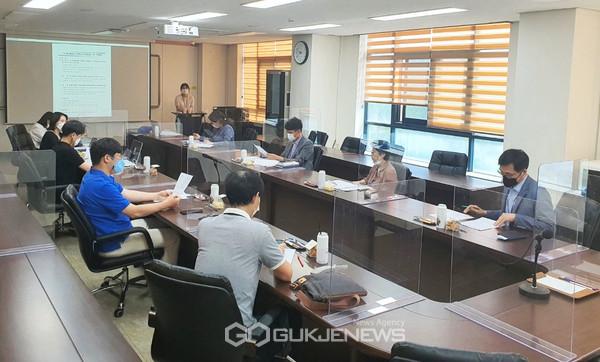 ICT를 활용한 지역현안 문제해결 사업기획 회의(사진=강남대)