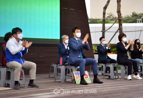 하남시 GTX-D 원안 위례신사선 하남연장 반영, 서명운동으로 탄력 (사진=하남시)