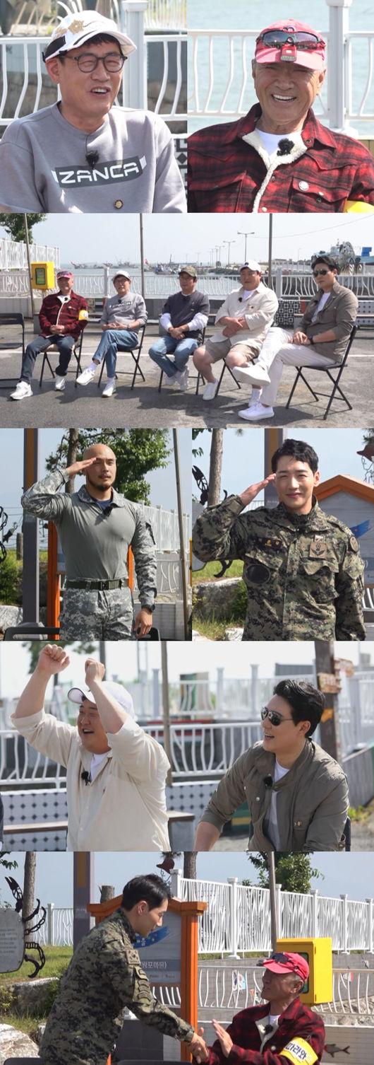 '도시어부3' 전북 왕포에 등장한 강철부대 박군·황충원·오종혁(사진=채널A)