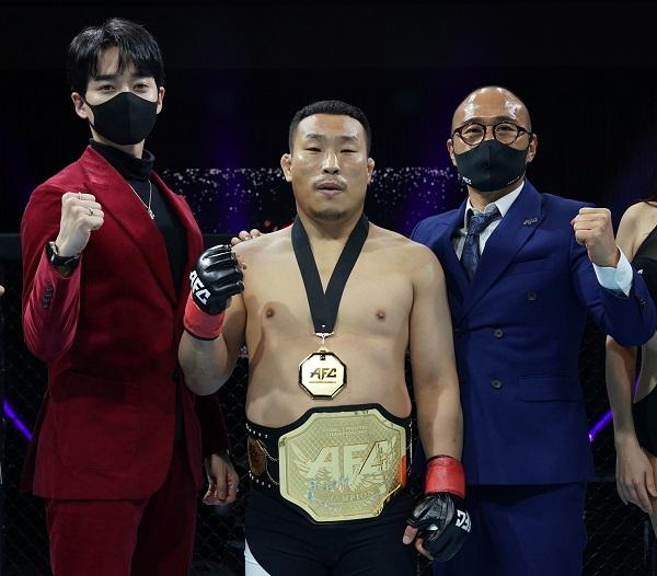 AFC 웰터급 챔피언김재영