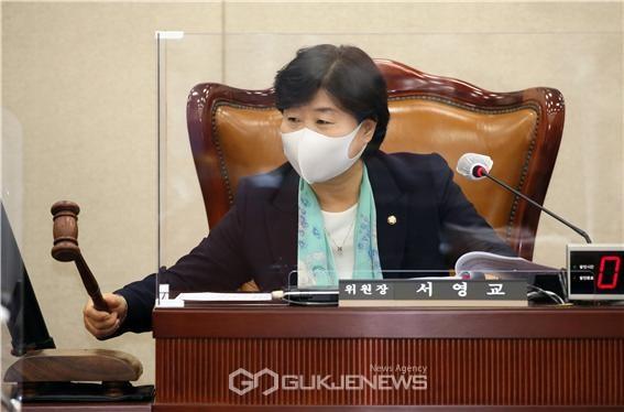 서영교 국회 행정안전위원장(서울 중랑구갑, 더불어민주당)