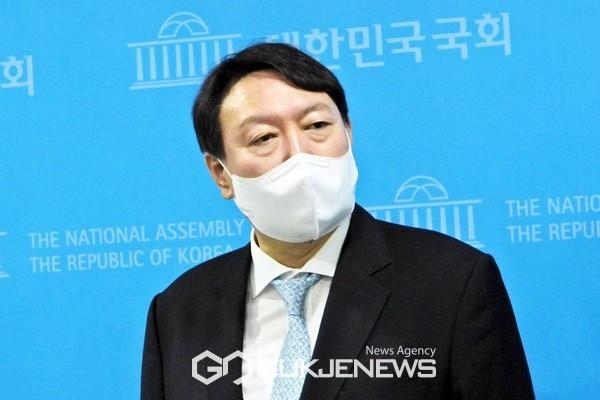 윤석열 전 검찰총장.