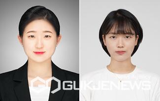왼쪽부터 김지수 씨, 정수연 씨.(제공=충북대학교)