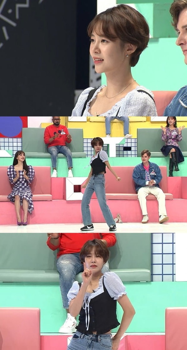 이효리 댄서 최윤영, 반전 과거 공개(사진=MBC에브리원)